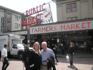 Mom & Dad in Seattle