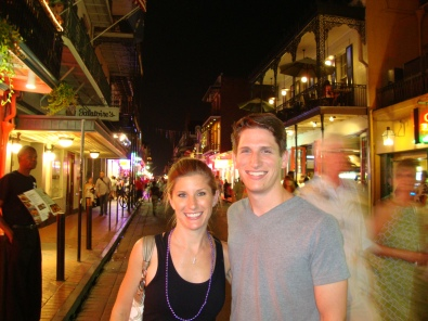Bourbon Street, New Orleans - June 2012